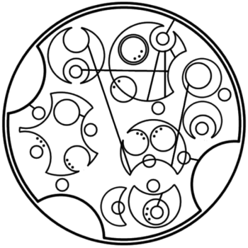 """""""To live would be an awfully big adventure"""" written in circular Gallifreyan requested by anon"""