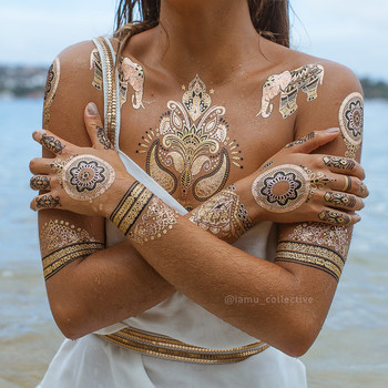 henna body tattoo