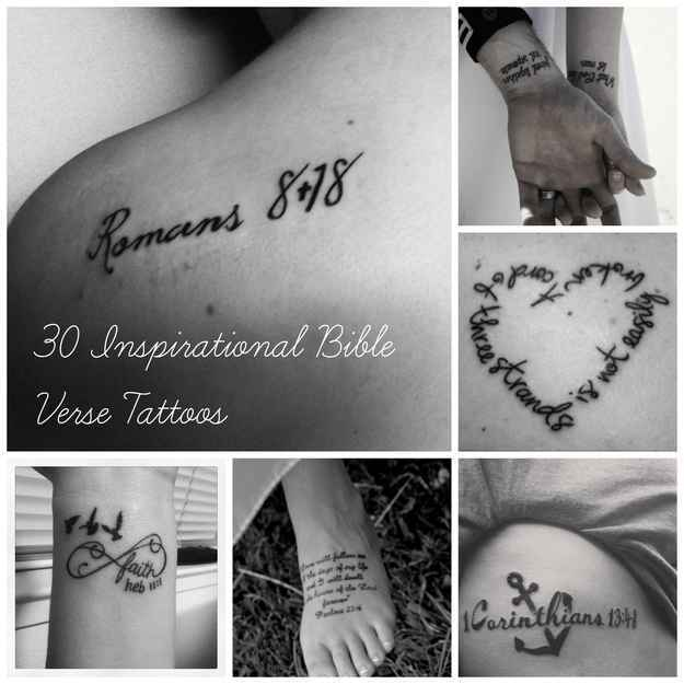Community post 30 inspirational bible verse tattoos original