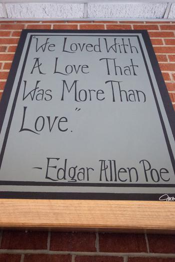 An Edgar Allan Poe Themed Spooky Romance: TJ & Elizabeth