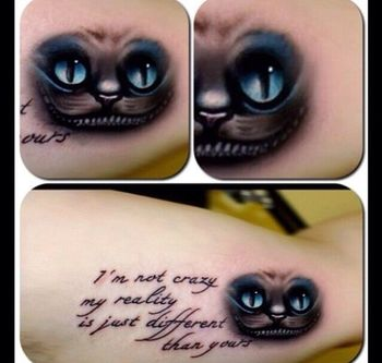cheshire cat quote | Tattoo Ideas. | Pinterest