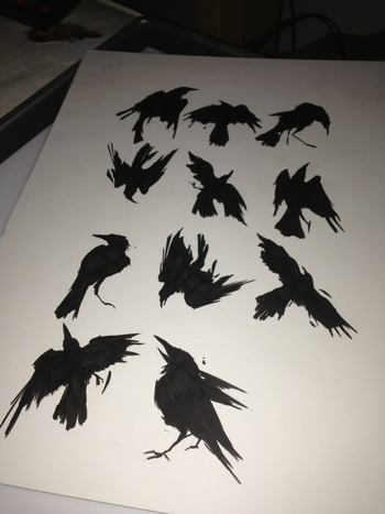 norse raven tattoo - Google Search
