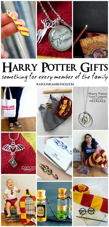 Harry Potter Gifts for the Whole Family - Rae Gun Ramblings