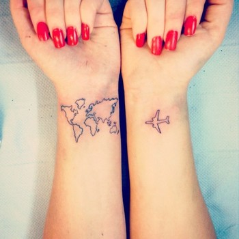 20 awesome travel tattoo ideas to help you express your wanderlust