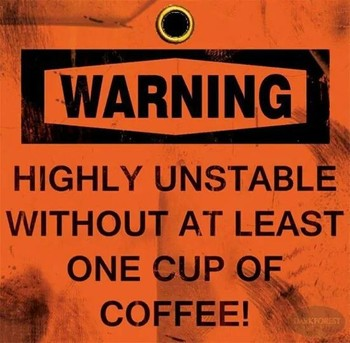I need this tatooed on me. Coffee maker, brewer, overflow mess problems… When an overflow occurs the