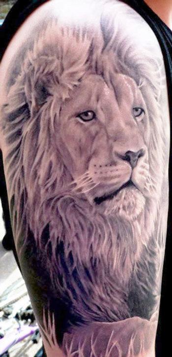 Realism Animal Tattoo by Inky Joe Hill