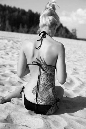 Top 30 Back Waist Tattoos for Women | Tattooton