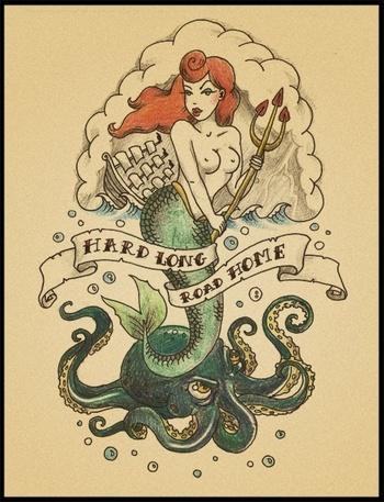 Mermaid Tattoo - Tattoo Ideas Central
