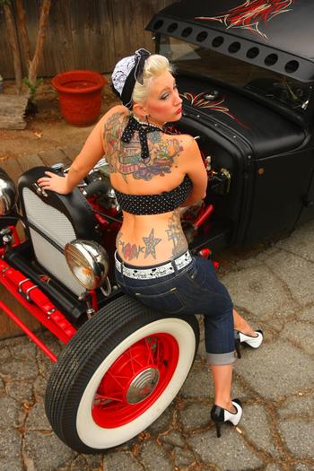 tattoosandbombshells: Imagery by Mike Basso
