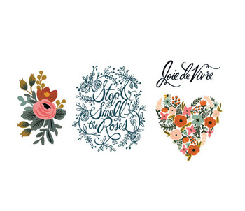 The Prettiest Temporary Tattoos You'll Ever See
