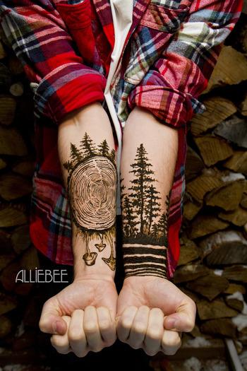 Henna trees