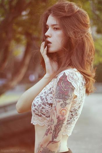 Tattoo Photography by Ira Chernova   Cuded