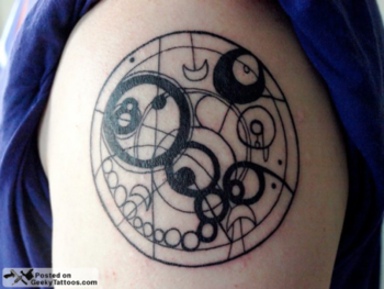 Doctor Who fob watch will be incorporated into my next tattoo, or some form of Gallifreyan, no questi