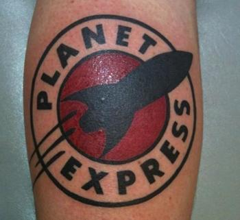 Tattoo Tuesday: 'Futurama,' 'Speed Racer' and more reader ink