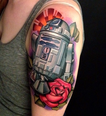 53 Best Star Wars Tattoos Period the End - TattooBlend - Your Source for Tattoo Designs and Inspiration