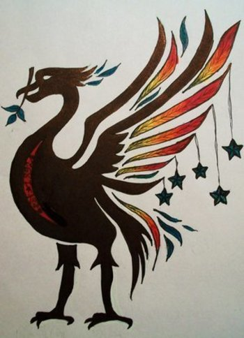 trends and lifestyle: Cool Football Club Tattoos With Image Liverpool FC Tattoo Design