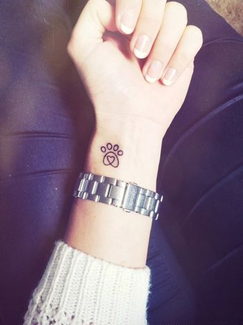 35 Paw Print Tattoos | InkDoneright For many of us, it's nearly impossible to envision life without o