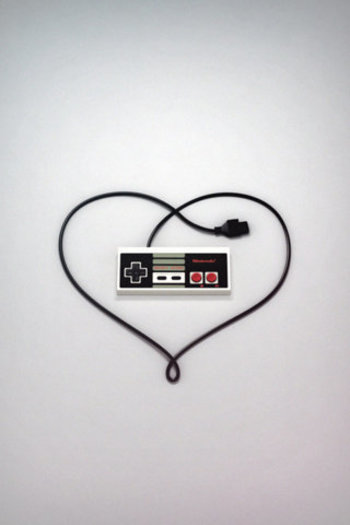 Gamer love - for someone who truly loved Nintendo and such I think this would be cool as a Tattoo. Ha