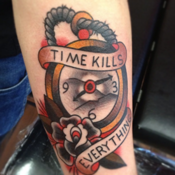 ... pocket watch tattoo tattoos