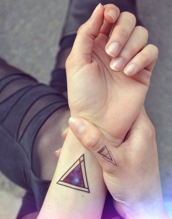 14 Galaxy-Inspired Tattoos That Are Out of This World