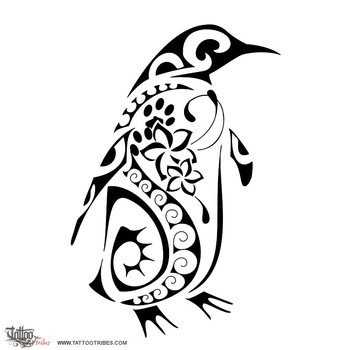 Tatuaggio di Pinguino, Costanza tattoo