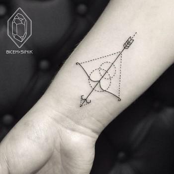 We ♥ tattoo: Ponto e linha - IdeaFixa