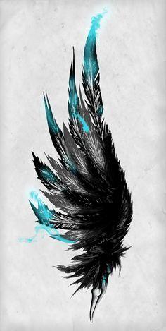 Watercolor angel wings google search original