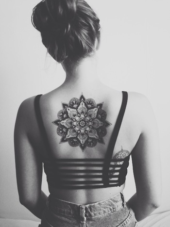Love the idea of having it in the middle of my back