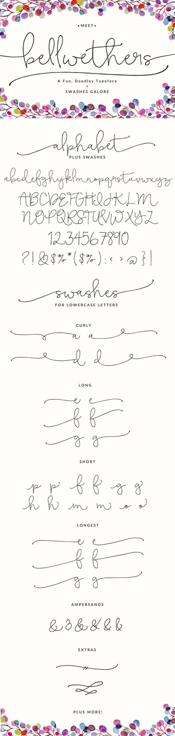 Bellwethers Font