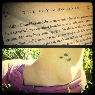 Stunning harry potter tattoo that will give you all the feels harry potter tattoo original