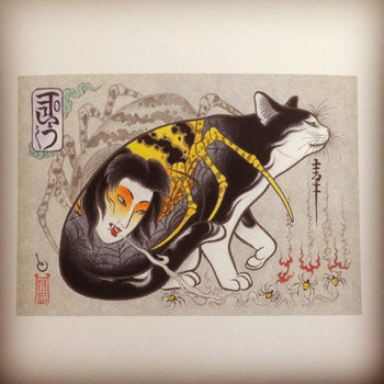 Monmon cats prints are available online!!!! http://ift.tt/1rg2xVC Please ask any questions on @monmon