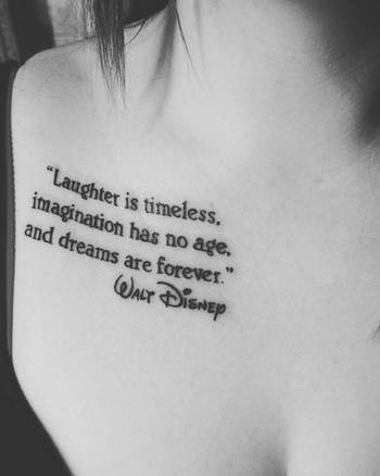 33 Fabulous Collar Bone Tattoos - Spiritustattoo.com