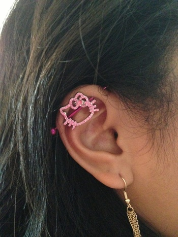5 cute and fun ear piercing ideas - The Fashion Time