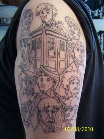 DR's WHO tattoo