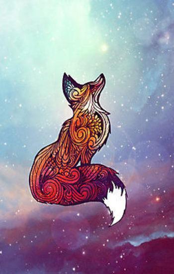 Space Fox by Danielle  Madrigal