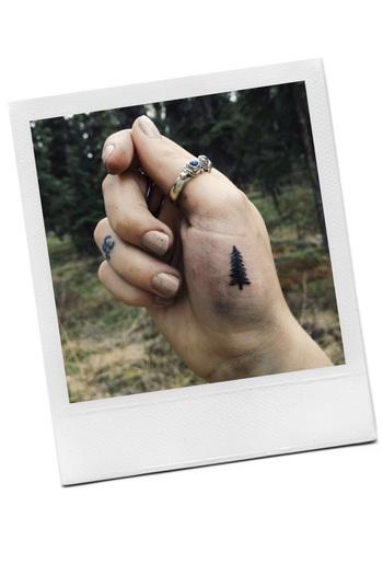 21 Precious and Tiny Tattoos