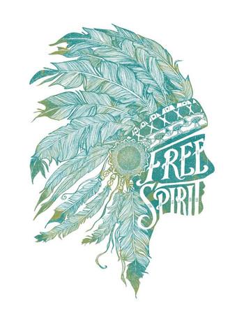Free Spirit Flowy Long Sleeve Tee