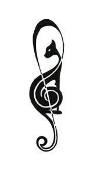 Image result for minimalist cat tattoos